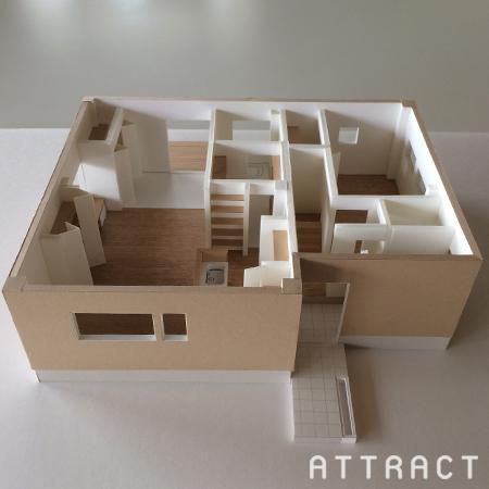 泉南市一戸建てリノベーション提案模型01
