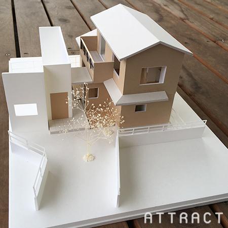 箕面市戸建てリノベーション提案模型01